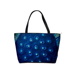 Blue Plant Shoulder Handbags by InsanityExpressedSuperStore