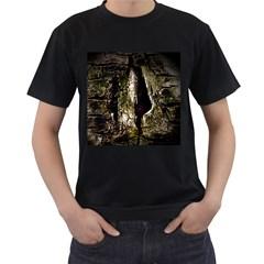 A Deeper Look Men s T Shirt (black)