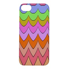 Pastel Waves Pattern Apple Iphone 5s Hardshell Case by LalyLauraFLM
