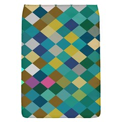 Rhombus Pattern In Retro Colors Removable Flap Cover (s) by LalyLauraFLM