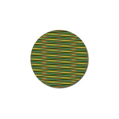 Diagonal Stripes Pattern Golf Ball Marker (10 Pack) by LalyLauraFLM