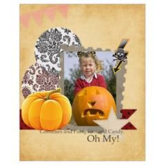Halloween By Helloween   Drawstring Bag (small)   Aqxwtvby7q3o   Www Artscow Com Back