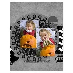 Halloween By Helloween   Drawstring Bag (large)   Psk0cdd2vzdk   Www Artscow Com Back