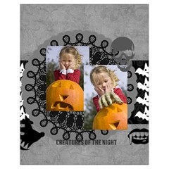Halloween By Helloween   Drawstring Bag (small)   3wv8p0f5tkmg   Www Artscow Com Front