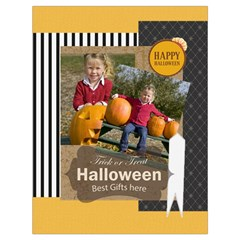 Halloween By Helloween   Drawstring Bag (large)   Ebx7lelazwte   Www Artscow Com Front