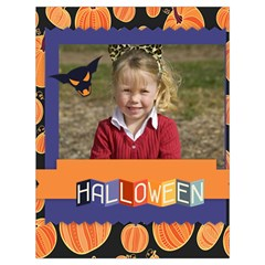 Halloween By Helloween   Drawstring Bag (large)   Equ1rn05exod   Www Artscow Com Back