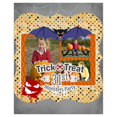 Halloween By Helloween   Drawstring Bag (small)   Zms2whkqrykf   Www Artscow Com Back