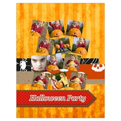 Halloween By Helloween   Drawstring Bag (large)   Ev740nic0iwg   Www Artscow Com Front
