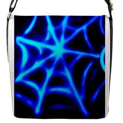 Neon Web Flap Messenger Bag (s) by rzer0x