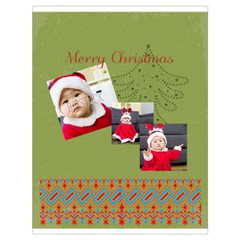 Xmas By Xmas   Drawstring Bag (large)   2nfnb38cdde9   Www Artscow Com Front