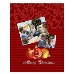 Xmas By Xmas   Drawstring Bag (large)   Yk52cmafrtnt   Www Artscow Com Back