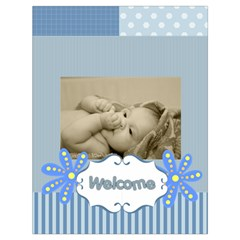 Baby By Baby   Drawstring Bag (large)   Ewwitlvl8up3   Www Artscow Com Back