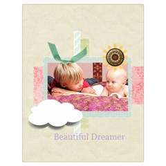 Baby By Baby   Drawstring Bag (large)   0n4mc594mm0k   Www Artscow Com Front