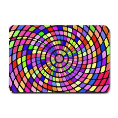 Colorful Whirlpool Small Doormat by LalyLauraFLM