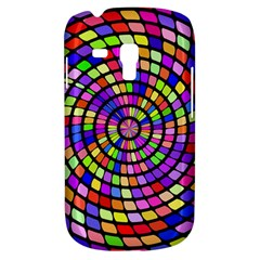 Colorful whirlpool Samsung Galaxy S3 MINI I8190 Hardshell Case by LalyLauraFLM