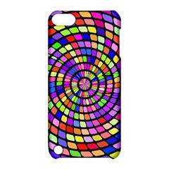 Colorful Whirlpool Apple Ipod Touch 5 Hardshell Case With Stand by LalyLauraFLM