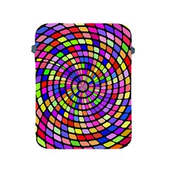Colorful Whirlpool Apple Ipad 2/3/4 Protective Soft Case by LalyLauraFLM