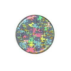 Pastel Scattered Pieces Hat Clip Ball Marker (4 Pack) by LalyLauraFLM