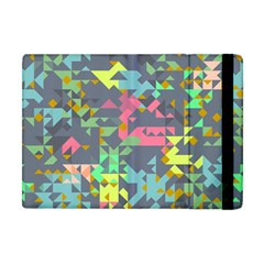 Pastel Scattered Pieces Apple Ipad Mini Flip Case by LalyLauraFLM