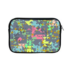 Pastel Scattered Pieces Apple Ipad Mini Zipper Case by LalyLauraFLM