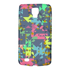 Pastel Scattered Pieces Samsung Galaxy S4 Active (i9295) Hardshell Case by LalyLauraFLM