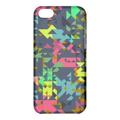 Pastel Scattered Pieces Apple Iphone 5c Hardshell Case by LalyLauraFLM
