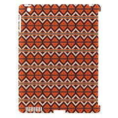 Brown Orange Rhombus Pattern Apple Ipad 3/4 Hardshell Case (compatible With Smart Cover) by LalyLauraFLM