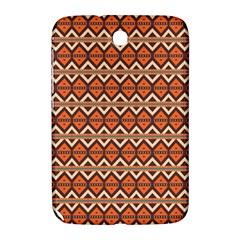 Brown Orange Rhombus Pattern Samsung Galaxy Note 8 0 N5100 Hardshell Case  by LalyLauraFLM