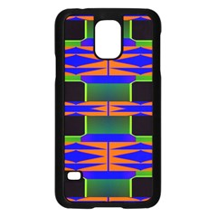 Distorted Shapes Patternsamsung Galaxy S5 Case by LalyLauraFLM