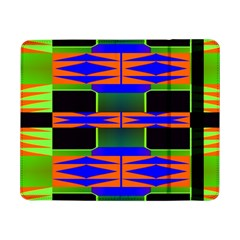 Distorted Shapes Patternsamsung Galaxy Tab Pro 8 4  Flip Case by LalyLauraFLM