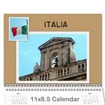 Joseph  - Wall Calendar 11  x 8.5  (12-Months)