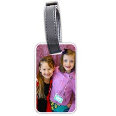 Luggage Tags Little Free Library By Dorothy   Luggage Tag (two Sides)   Tfz1s13ihkc2   Www Artscow Com Front