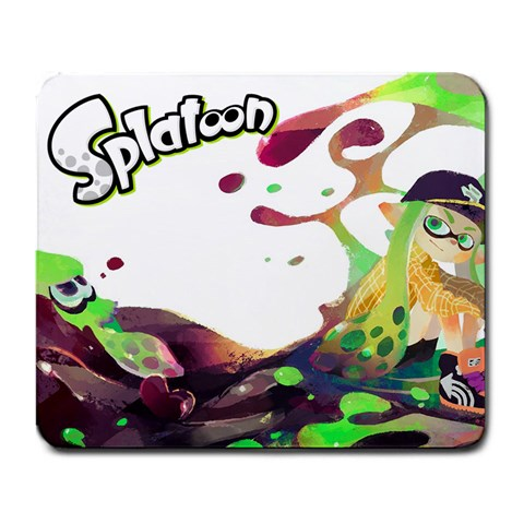 Splatoon Mousepad By Matthew Thom Front