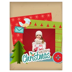 Xmas By Xmas   Drawstring Bag (large)   Ehzzpuzsjdjd   Www Artscow Com Front