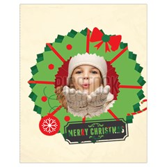 Xmas By Xmas   Drawstring Bag (small)   L127m97auis5   Www Artscow Com Front