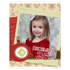 Xmas By Xmas   Drawstring Bag (large)   E87kybdchfju   Www Artscow Com Back