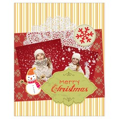 Xmas By Xmas   Drawstring Bag (small)   Jxa1rh18nmrf   Www Artscow Com Back