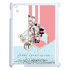 Under Construction Apple Ipad 2 Case (white) by infloence