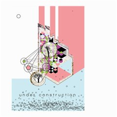 Under Construction Small Garden Flag (two Sides) by infloence