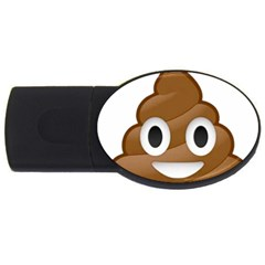 Poop USB Flash Drive Oval (2 GB)  by redcow