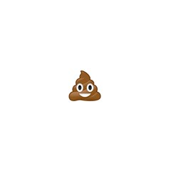Poop Shower Curtain 60  X 72  (medium)  by redcow