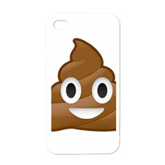Poop Apple Iphone 4 Case (white) by redcow