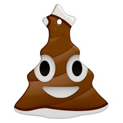 Poop Ornament (christmas Tree) by redcow