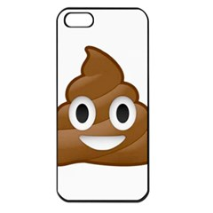 Poop Apple Iphone 5 Seamless Case (black) by redcow