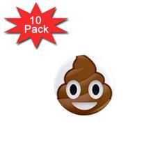 Poop 1  Mini Magnet (10 Pack)  by redcow