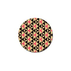 Shapes In Triangles Pattern Golf Ball Marker (10 Pack) by LalyLauraFLM