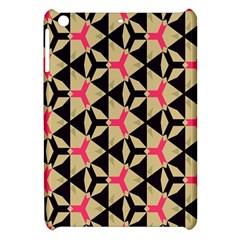 Shapes In Triangles Pattern Apple Ipad Mini Hardshell Case by LalyLauraFLM