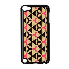 Shapes In Triangles Pattern Apple Ipod Touch 5 Case (black) by LalyLauraFLM