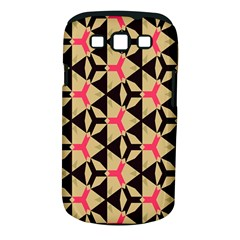 Shapes In Triangles Pattern Samsung Galaxy S Iii Classic Hardshell Case (pc+silicone) by LalyLauraFLM