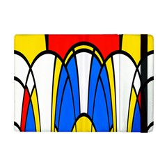 Colorful Distorted Shapes Apple Ipad Mini Flip Case by LalyLauraFLM